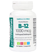 Prairie Naturals Vitamin B-12 Sublingual with Folic Acid