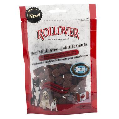 Rollover Premium Dog Treats Beef Mini Bites With EVA
