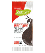 Veggie Go's Organic Mountain Berry Spinach Chewy Snack