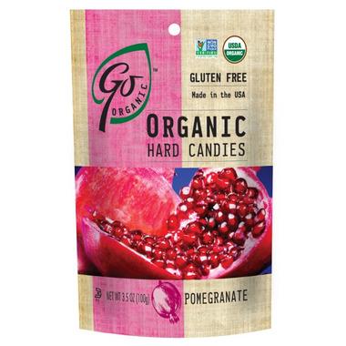 Go Organic Pomegranate Hard Candies