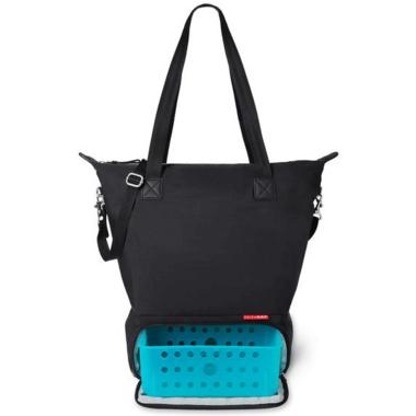 Skip Hop Tray Chic Dry & Store Pump Bag Black