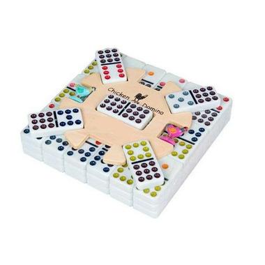 Double 9 Chicken Domino Set