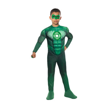 Green Lantern Deluxe Light-Up Hal Jordan Child Costume