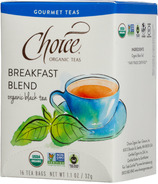 Choice Organic Teas Breakfast Blend Tea