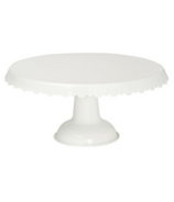 Now Designs White Metal Cake Stand