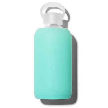 bkr Melt Glass Water Bottle Sheer Holiday