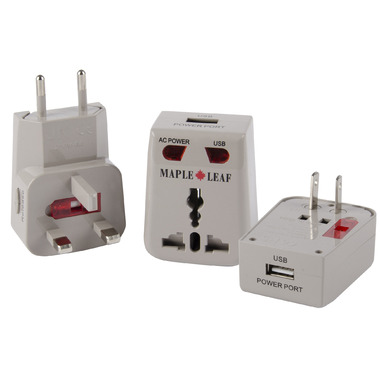 Maple Leaf Travel Worldwide Universal Adaptor