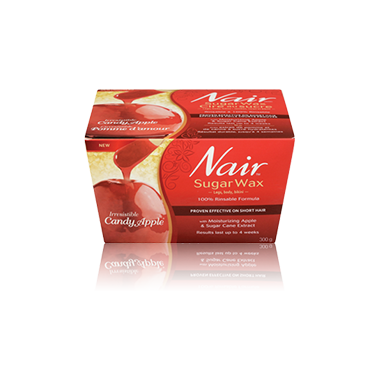 Nair Irresistible Candy Apple Sugar Wax