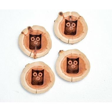 Robazzo Owl West Coasters