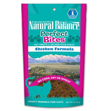 Natural Balance Perfect Bites Cat Treats
