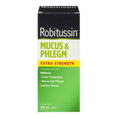 Robitussin Mucus & Phlegm Extra Strength