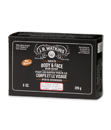 J.R. Watkins Men's Bergamot & Oak Body and Face Bar Soap