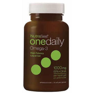 NutraSea One Daily Omega-3 Liquid Gels