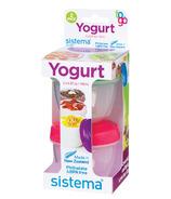 Sistema Yogurt Pot To Go 2 Pack