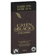 Green & Black's Organic Dark Chocolate 70% Bar