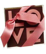 Saxon Chocolates Dark Chocolate Love Bar