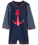 Hatley One Piece Rashguard Sea Anchors