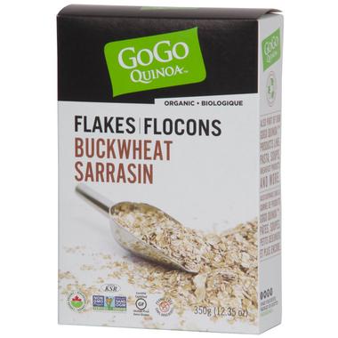 GoGo Quinoa Organic Instant Buckwheat Flakes
