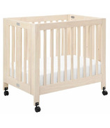 Babyletto Origami Collapsible Mini Crib Washed Natural
