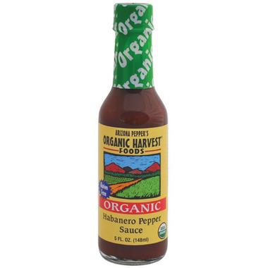 Arizona Pepper\'s Organic Harvest Habanero Pepper Sauce