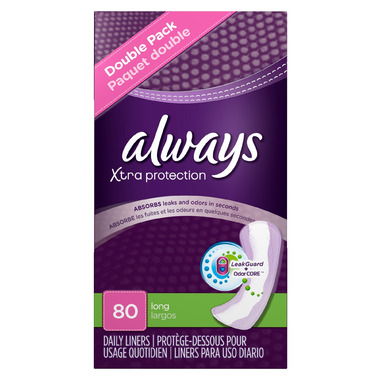 Always Xtra Protection Daily Liners