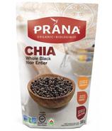 Prana Organic Black Whole Chia Seeds