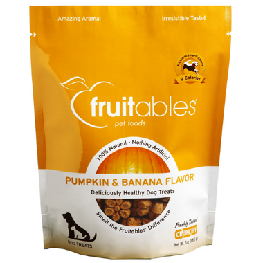 Fruitables Crunch Dog Treats Pumpkin & Banana