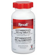 Rexall Acetaminophen 500mg Tablets