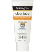 Neutrogena Clear Face Sunscreen Lotion