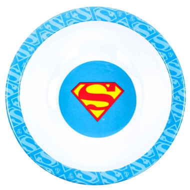 Bumkins DC Comics Melamine Bowl Superman