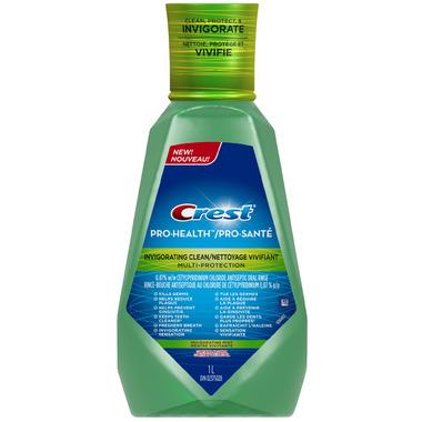 Crest Pro-Health Invigorating Multi-Protection Antiseptic Rinse
