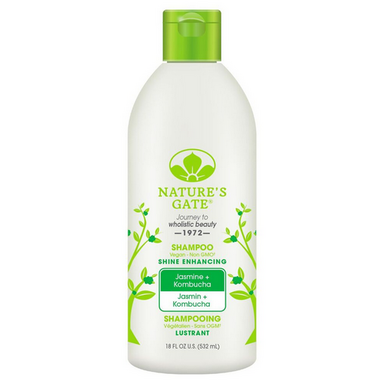 Nature\'s Gate Jasmine + Kombucha Shine Enhancing Shampoo