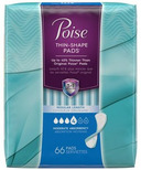 Poise Thin-Shape Pads Moderate Absorbency