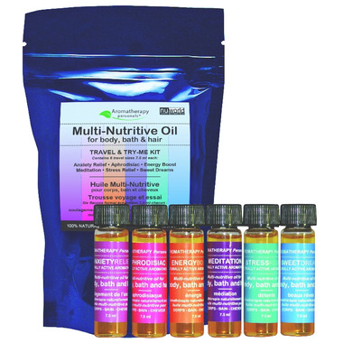 Nuworld Botanicals Multi-Nutritive Oil Travel & Try-Me Kit