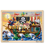 Melissa & Doug Pirate Adventure Jigsaw Puzzle