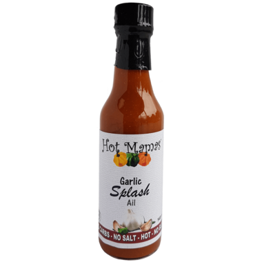 Hot Mamas Garlic Splash Hot Sauce