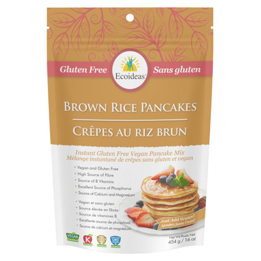 Ecoideas Brown Rice Pancake Mix