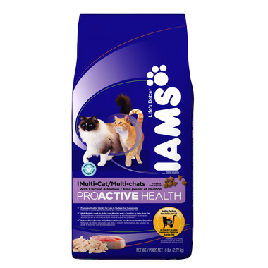 Iams Cat ProActive Health Adult Multi-Cat With Chicken & Salmon