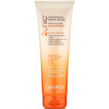 Giovanni 2chic Tangerine & Papaya Ultra-Volume Conditioner
