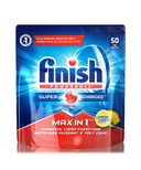 Finish Powerball Max in 1 Super Charged Dishwasher Detergent Lemon Scent