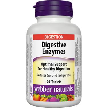 Webber Naturals Digestive Enzymes