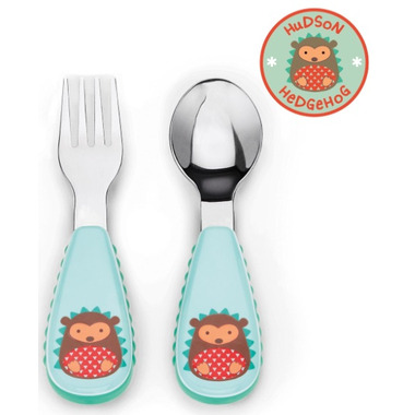 Skip Hop ZOOtensil Utensil Set Hedgehog