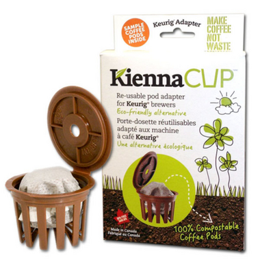KiennaCUP Adapter for Single Cup Coffee Brewers