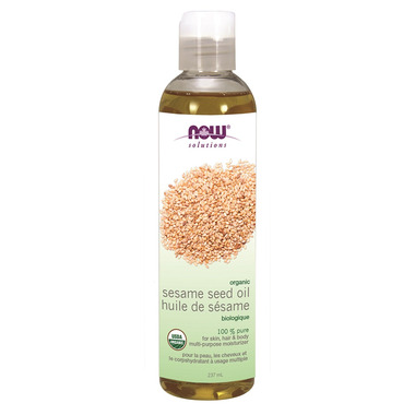 NOW Solutions Organic Sesame Seed Oil