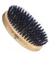 Kent Oval Beechwood Brush with Black Bristles