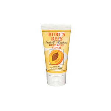 Burt\'s Bees Peach & Willowbark Deep Pore Scrub