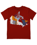 Farm Boy Patterned Canada Tee