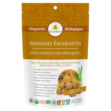 Ecoideas Organic Skinned Whole Tigernuts