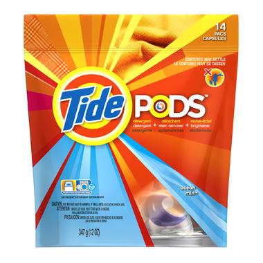 Tide Laundry Detergent PODS Ocean Mist Scent