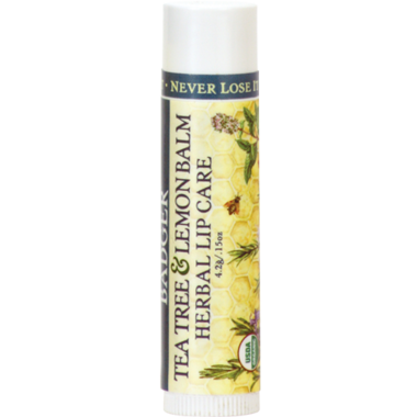 Badger Tea Tree & Lemon Lip Balm